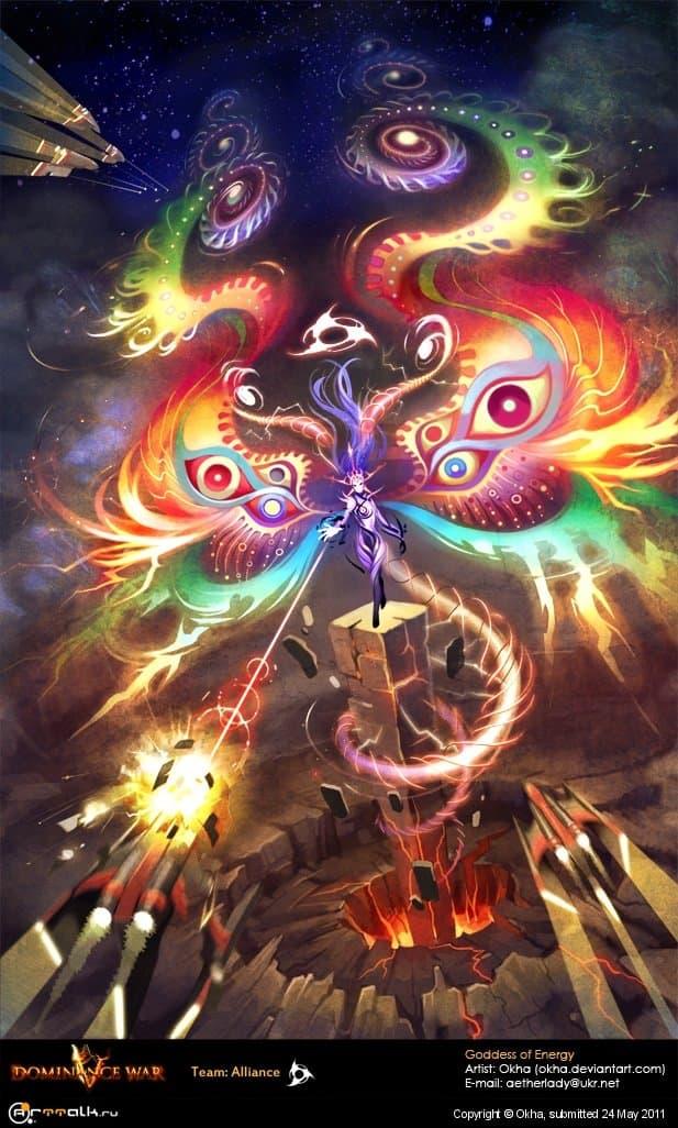 Goddess Of Energy (dominance War5)