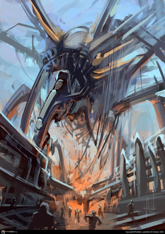 гигантский паучаро