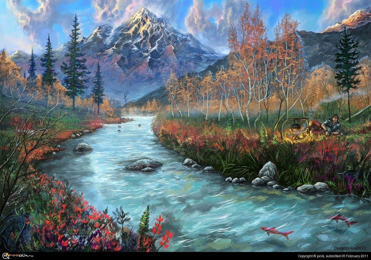 Лесами, горами