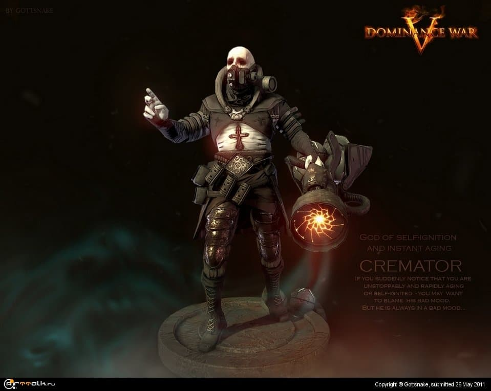 Cremator For Dominance War 5