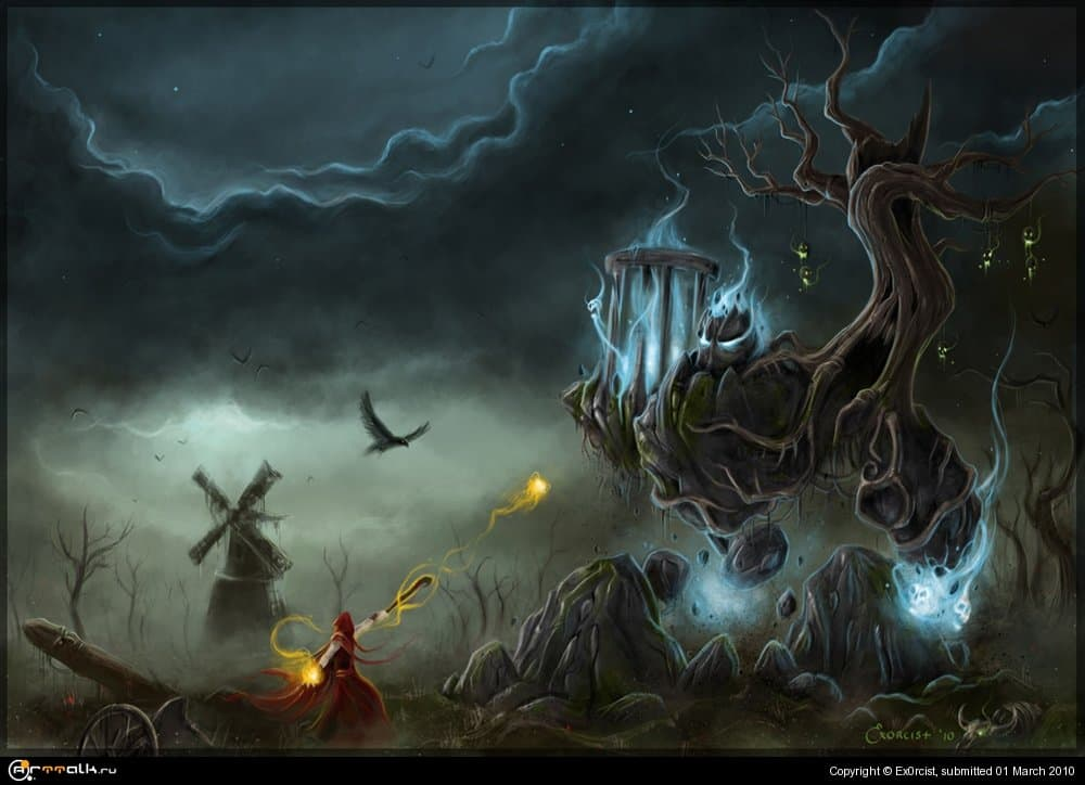 Desecrated Source Of Magic