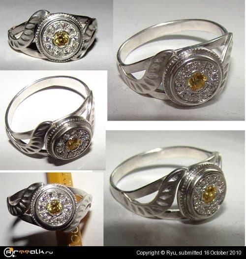 """кольцо """"сонце"""""""