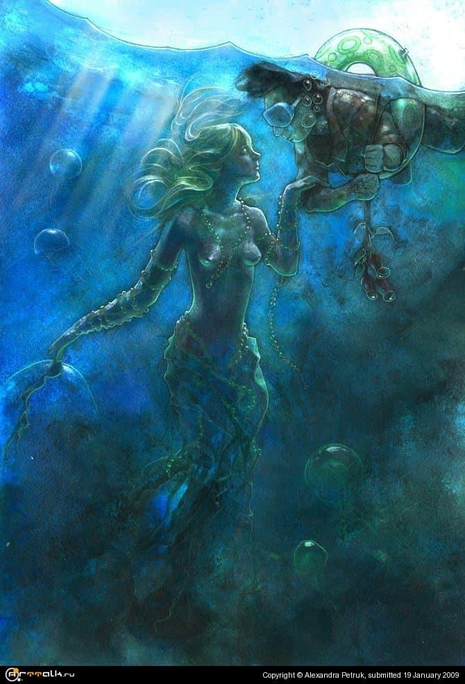Свидание с морской красавицей