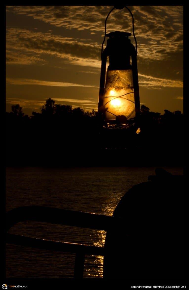 Sunlamp.Лампа солнечного света.