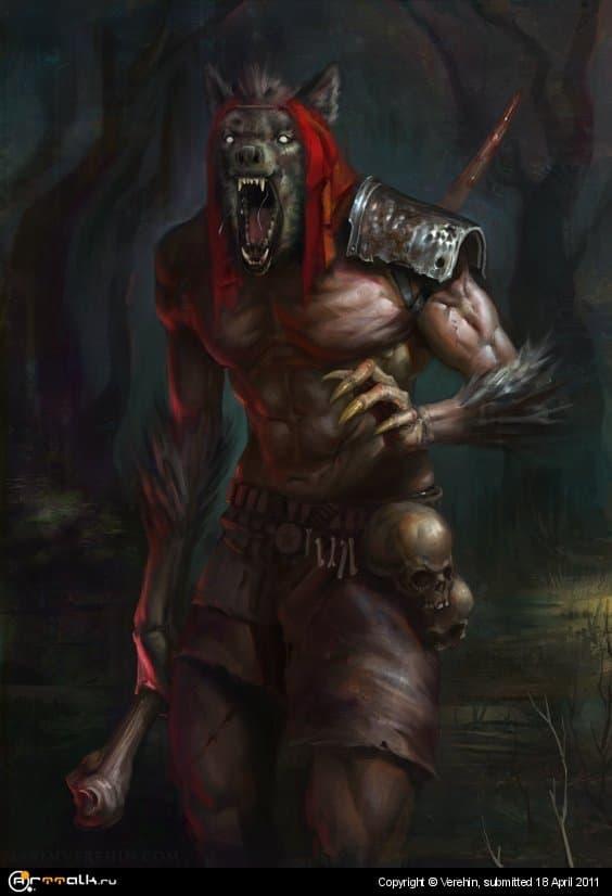 Красная шапочка. Волк