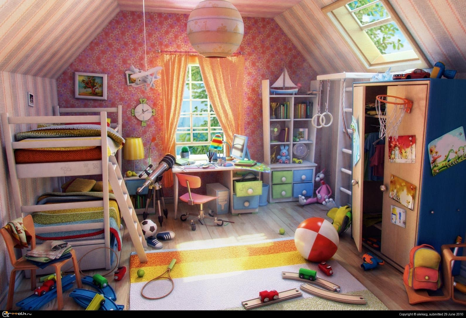 Детская комната)
