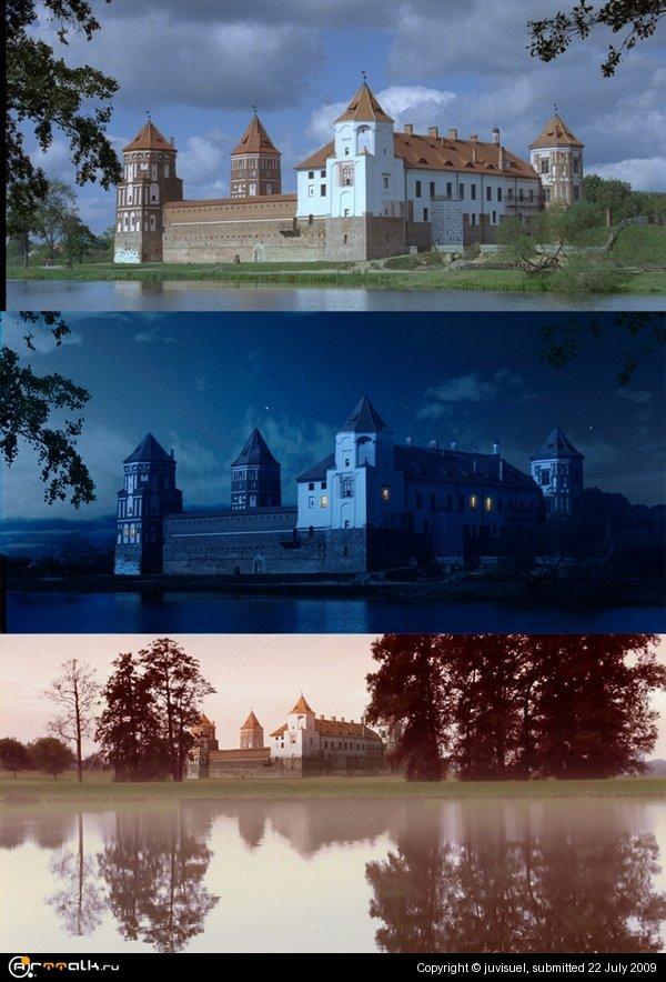 Замок. Меняем свет.
