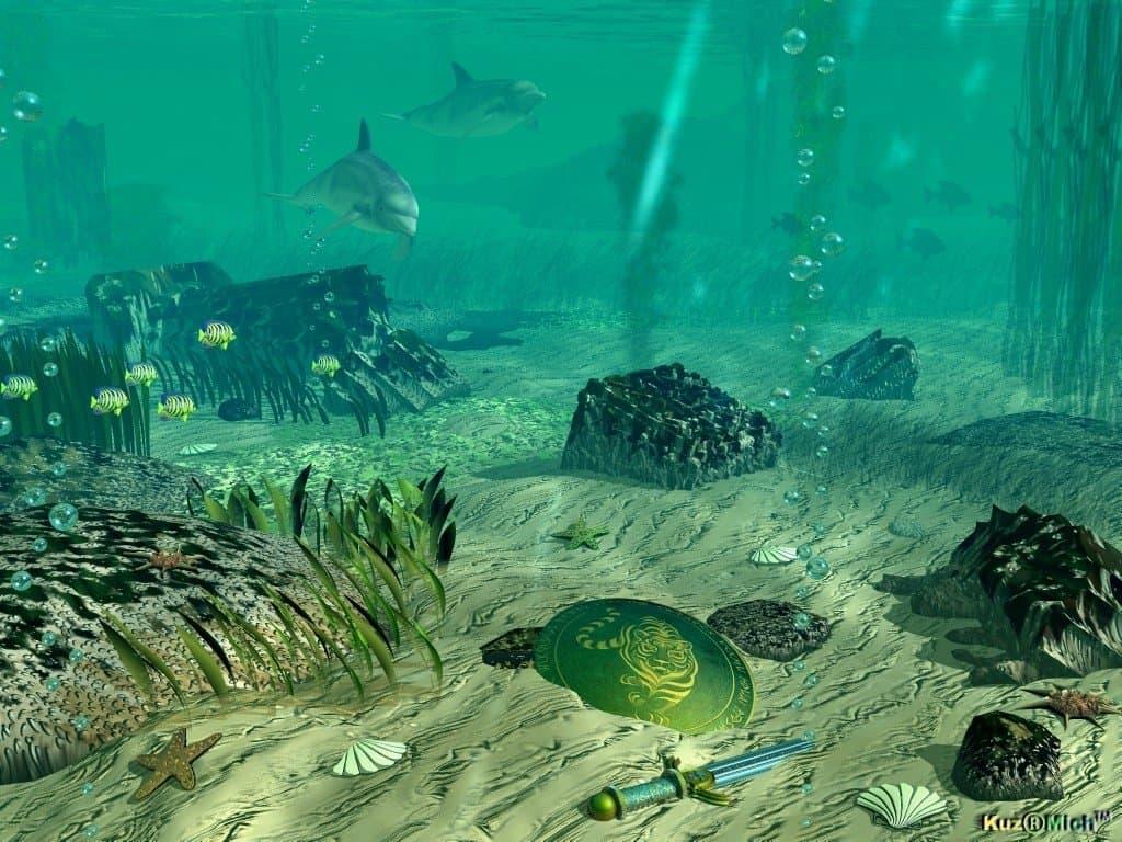 Морское дно ТОГО мира