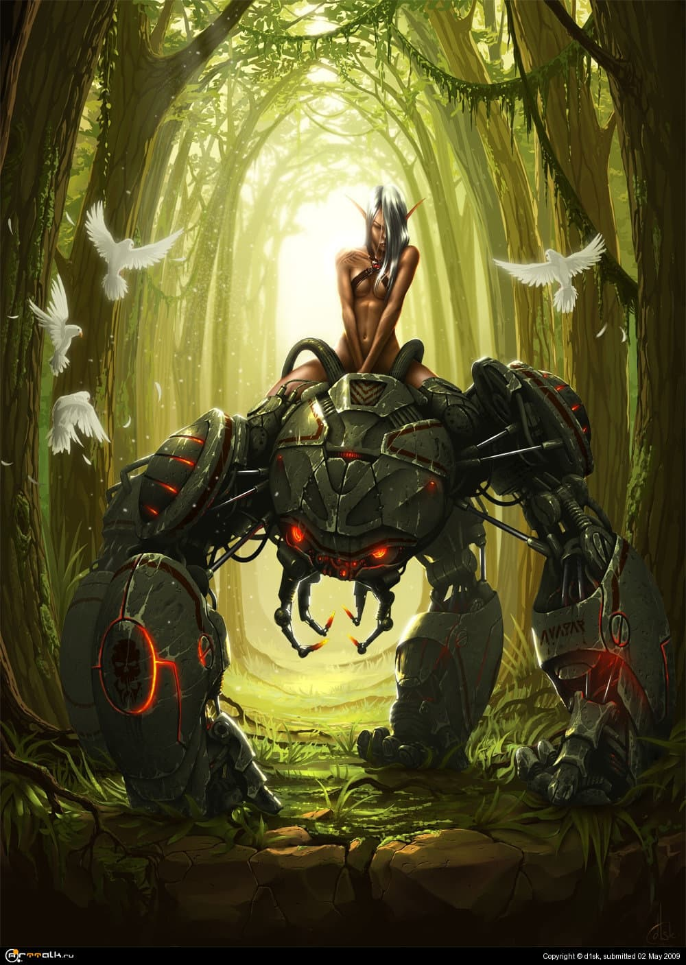 Guardian Of The Ancient Forest