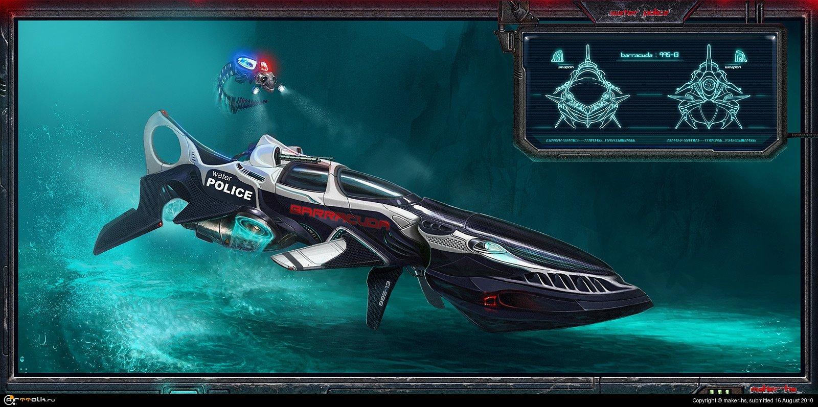 Water Police Barracuda