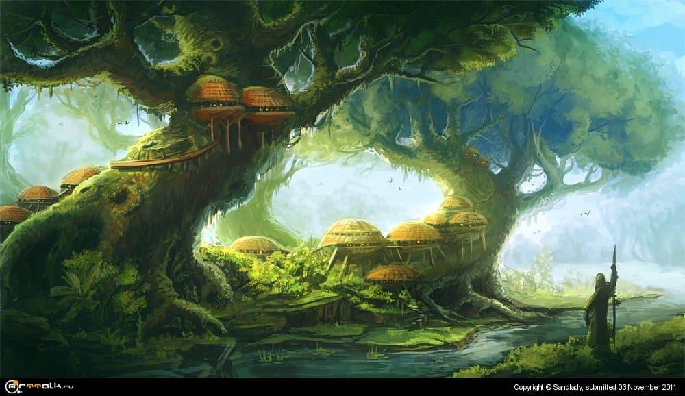 Древесное поселение