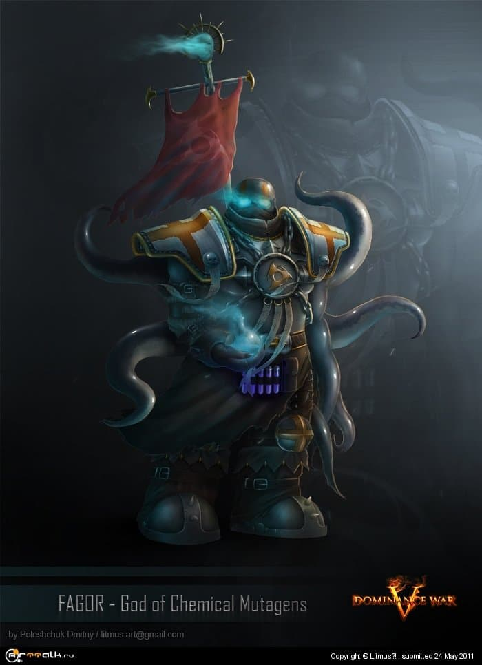 Fagor - God Of Chemical Mutagens