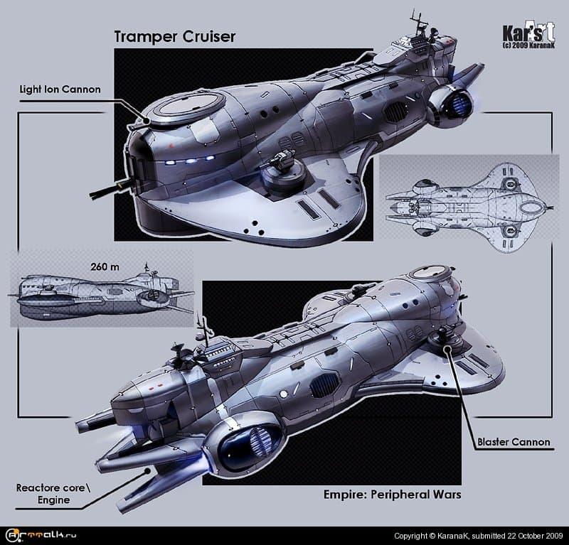 Tramper Cruiser (concept)