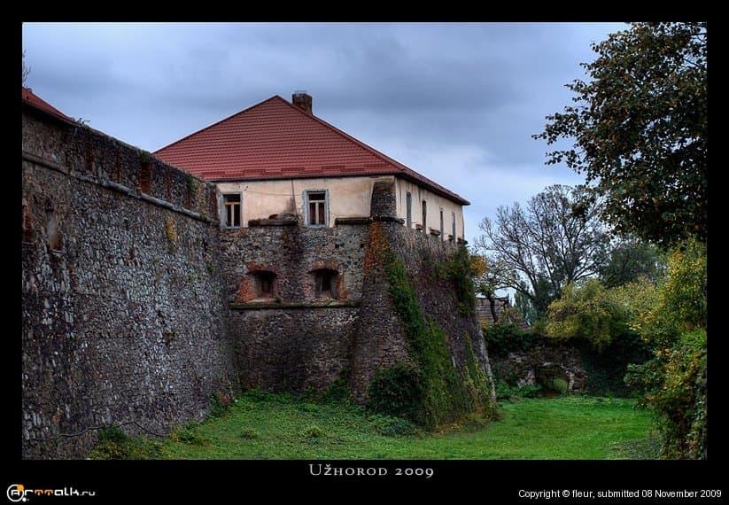 Ужгородская крепость.