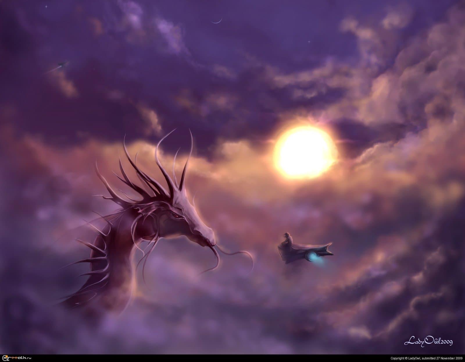 Драгори - планета красных драконов.