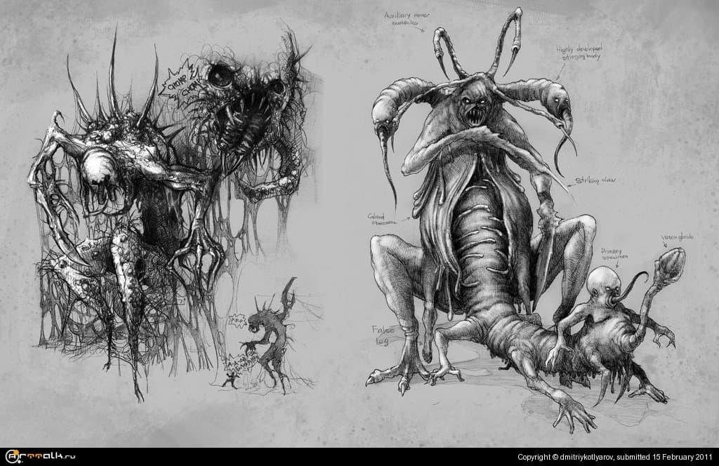 Creatures Concept - 2