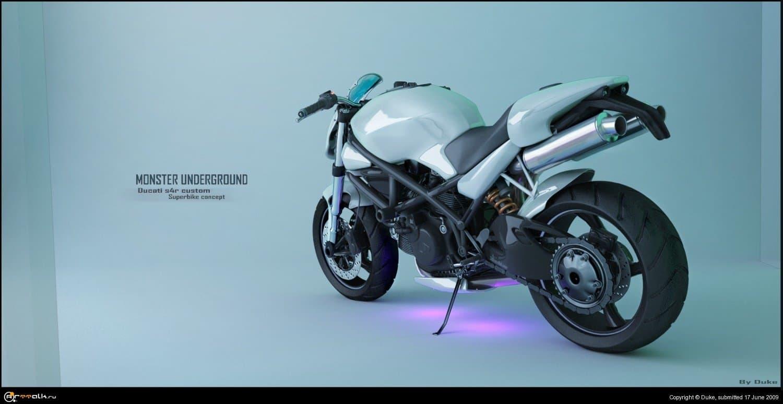 Ducati S4r Superbike Concept