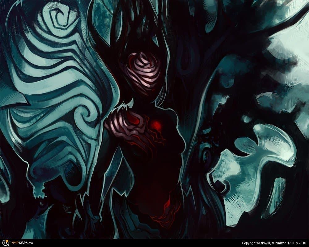 Злой дух темного леса