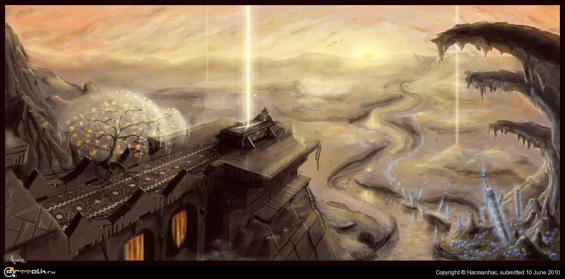 Valley Of The Pillars