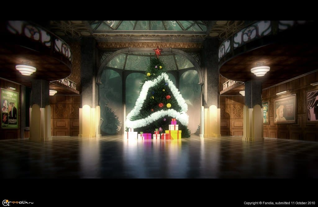 Happy New Year In Rapture