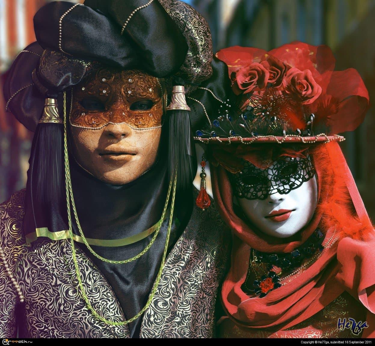 Двое на карнавале