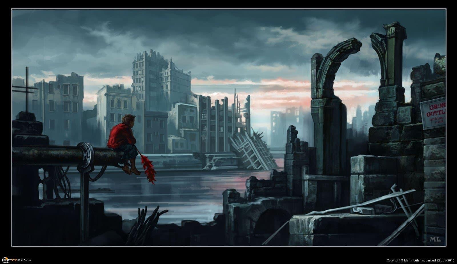 Постапокалиптический город