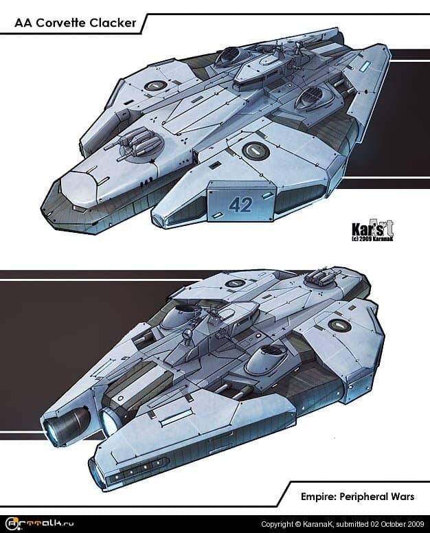 Aa Corvette Clacker (game Concept)