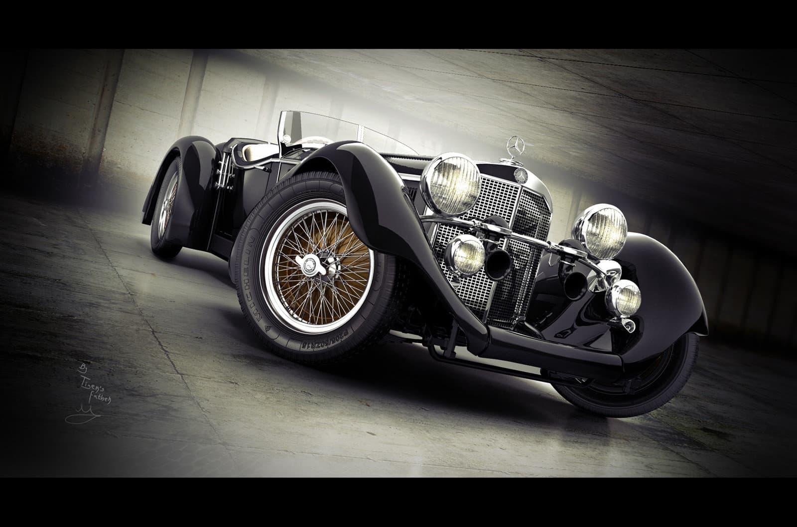 Mercedes Benz Ss Erdmann&rossi Roadster 1930