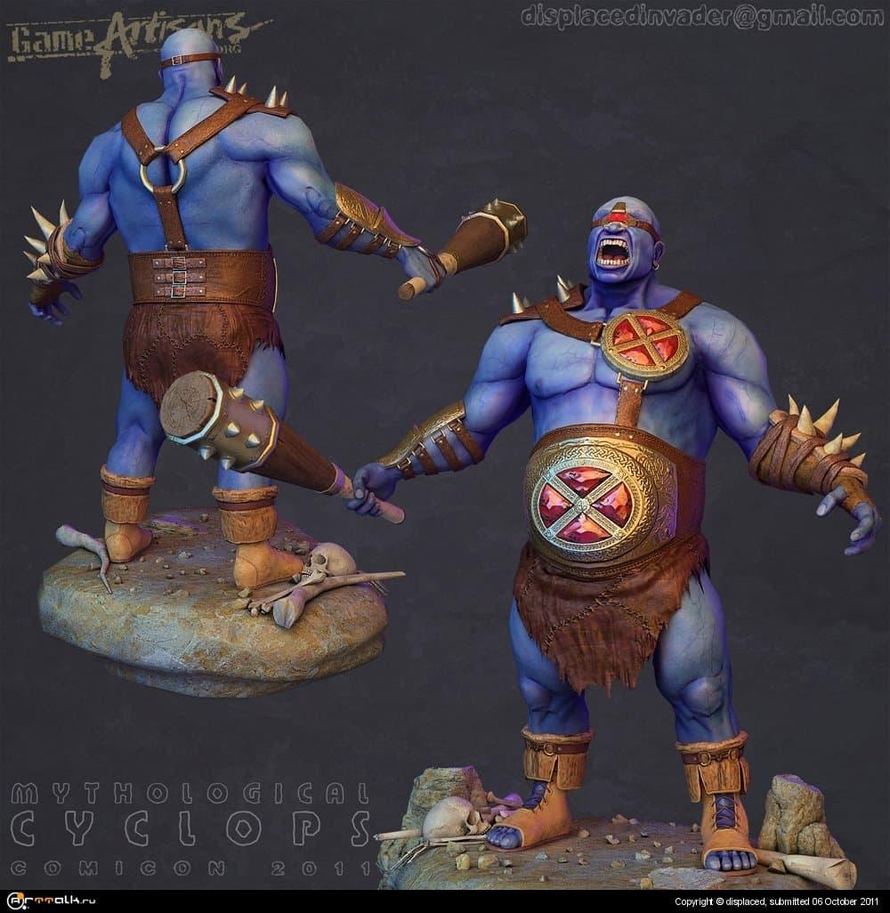 Mythological Cyclops | Comicon 2011