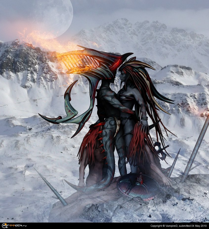 Слуа-Вампиресса, из клана древних вампиров
