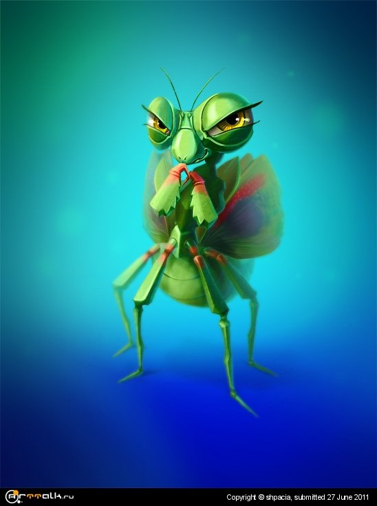 She Mantis