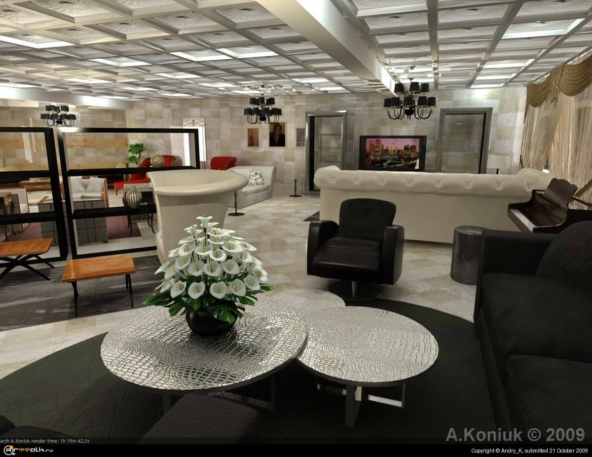 Prince Arthur Eze Enugu Residence (виз интерьера)