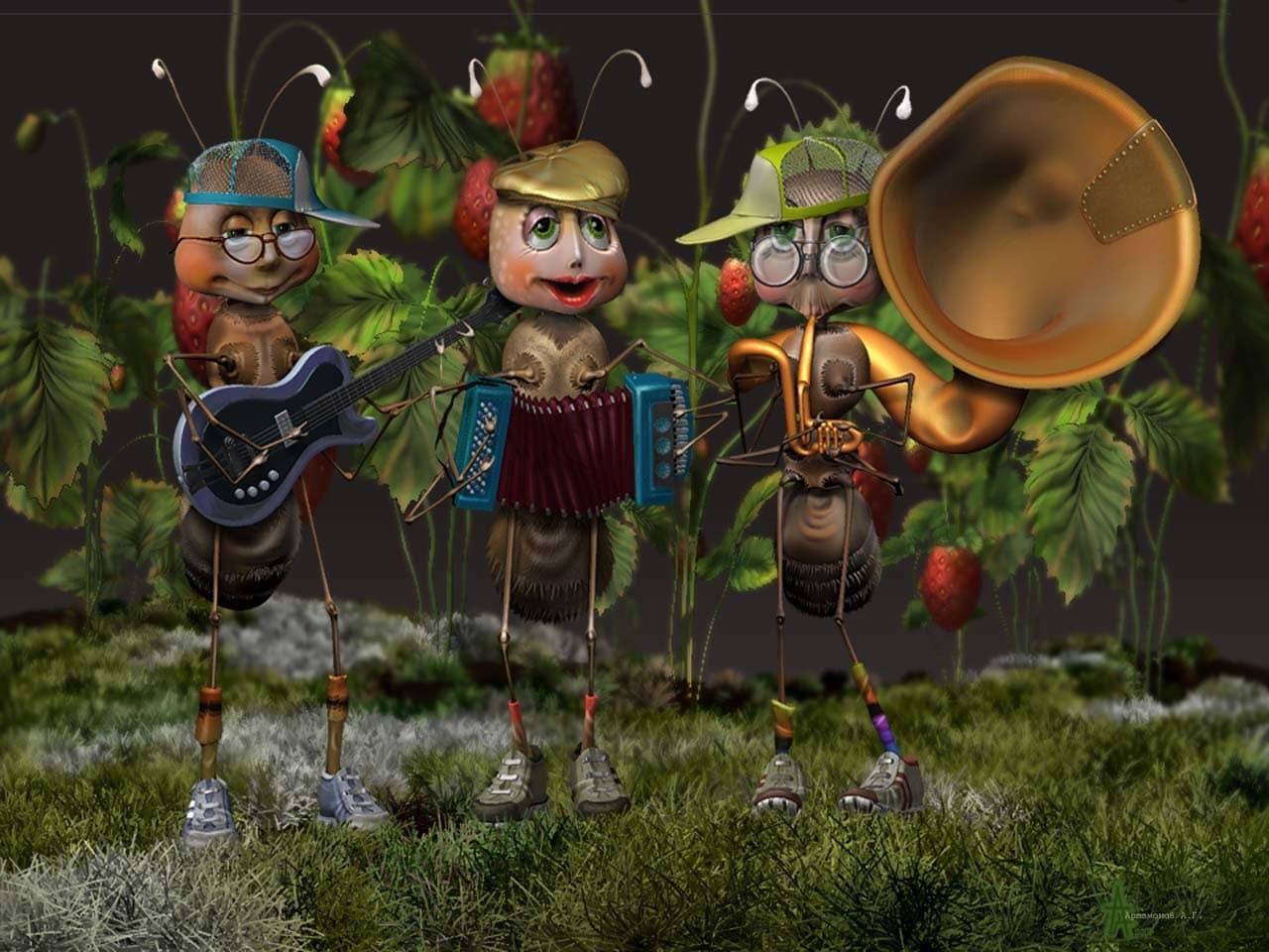 веселые музыканты