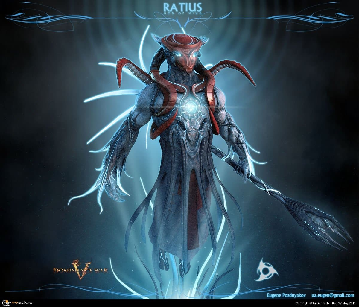 Ratius (god Of Mind)