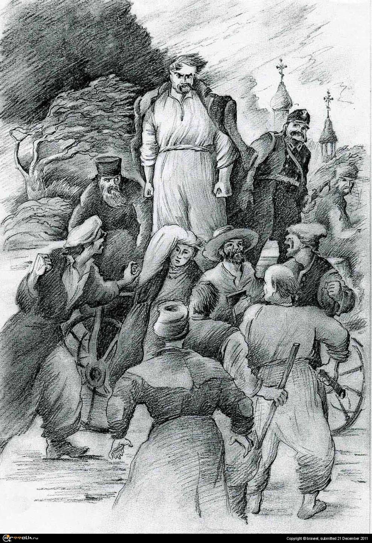 Крестьянский бунт. 19 век