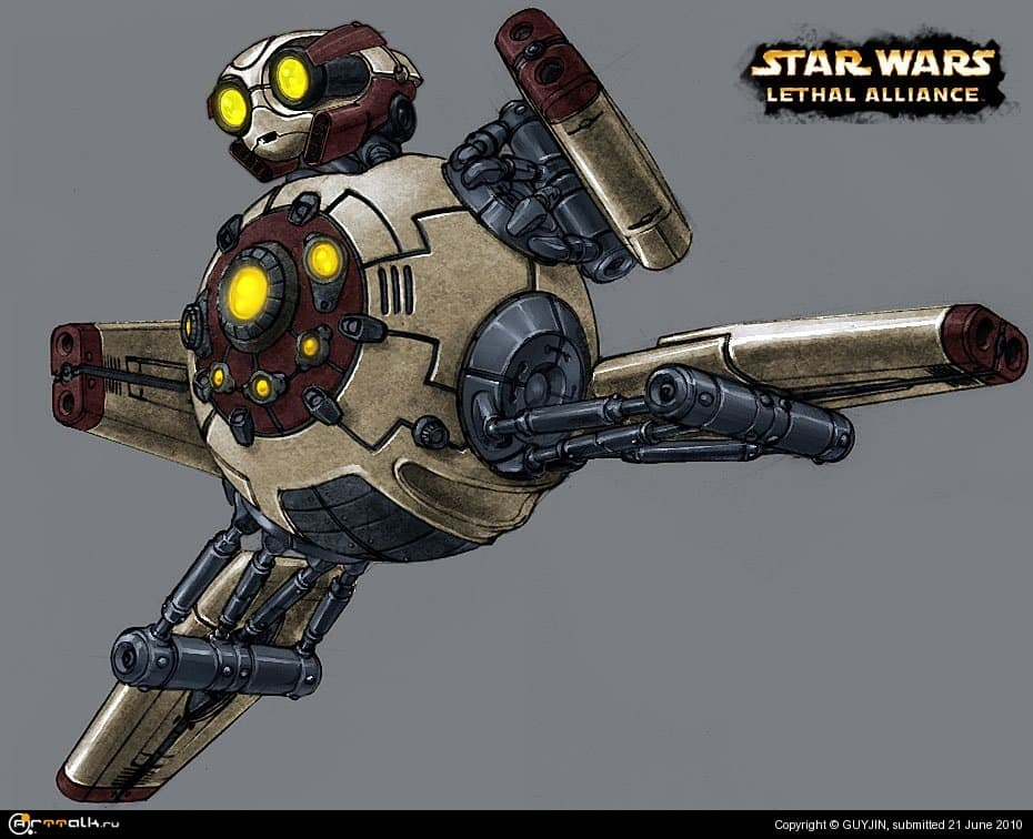 Star Wars - Lethal Alliance Droid