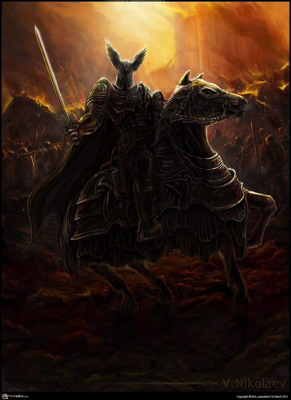 Кагыр Маур Дыффин аэп Кеаллах - Нильфгаардский рыцарь