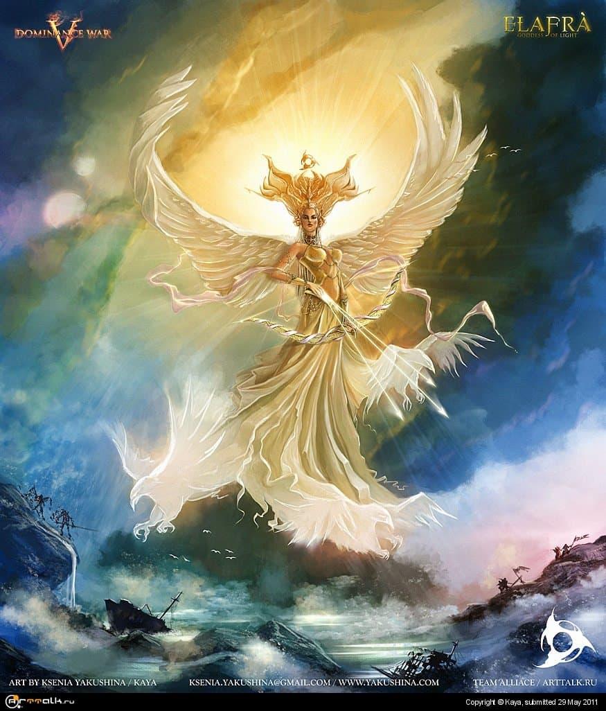 Elafra Goddess Of Light