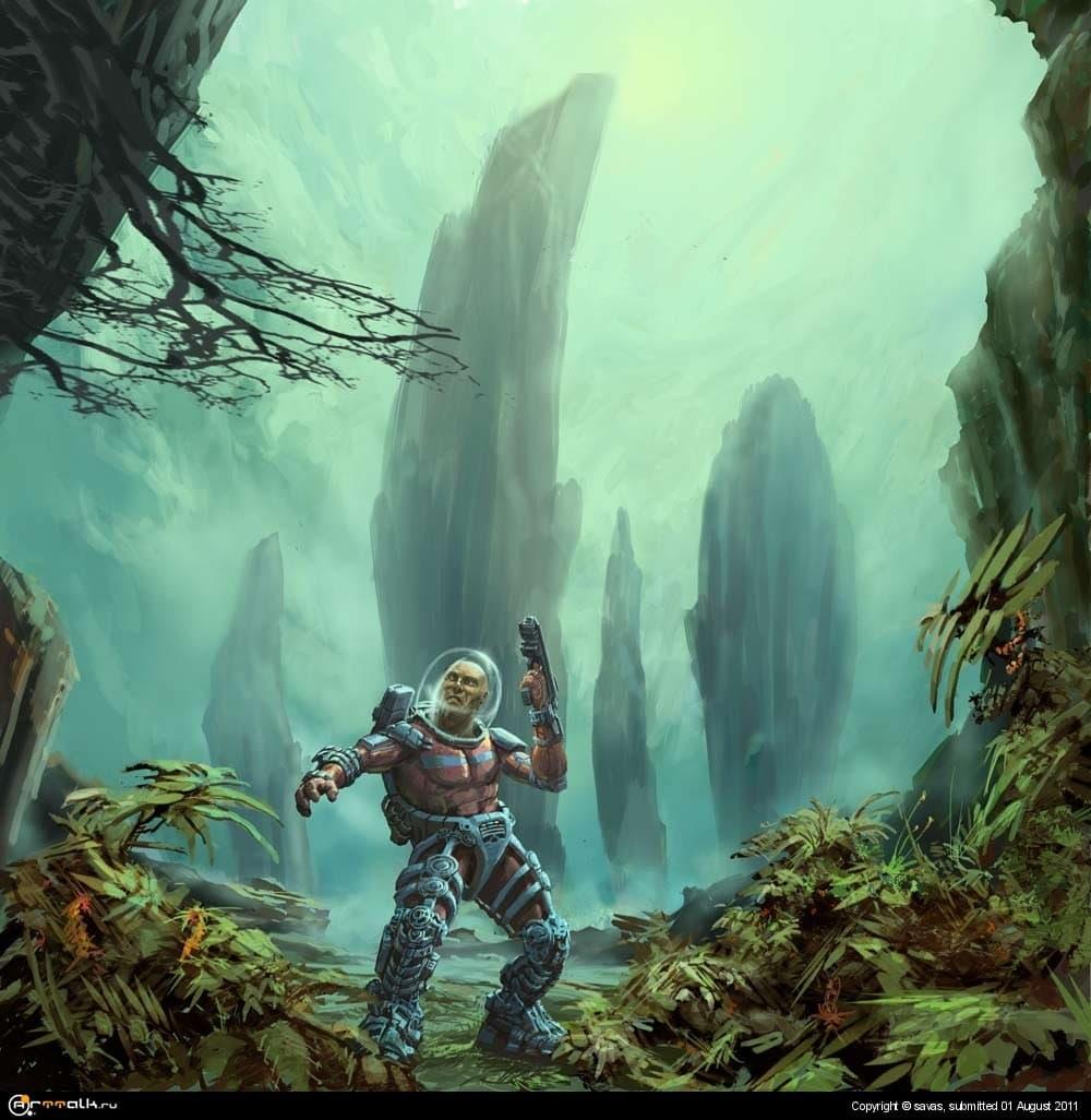 В лесах планеты Обре