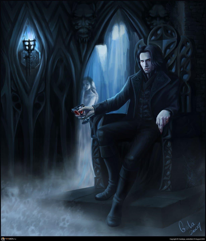 Вампир в замке