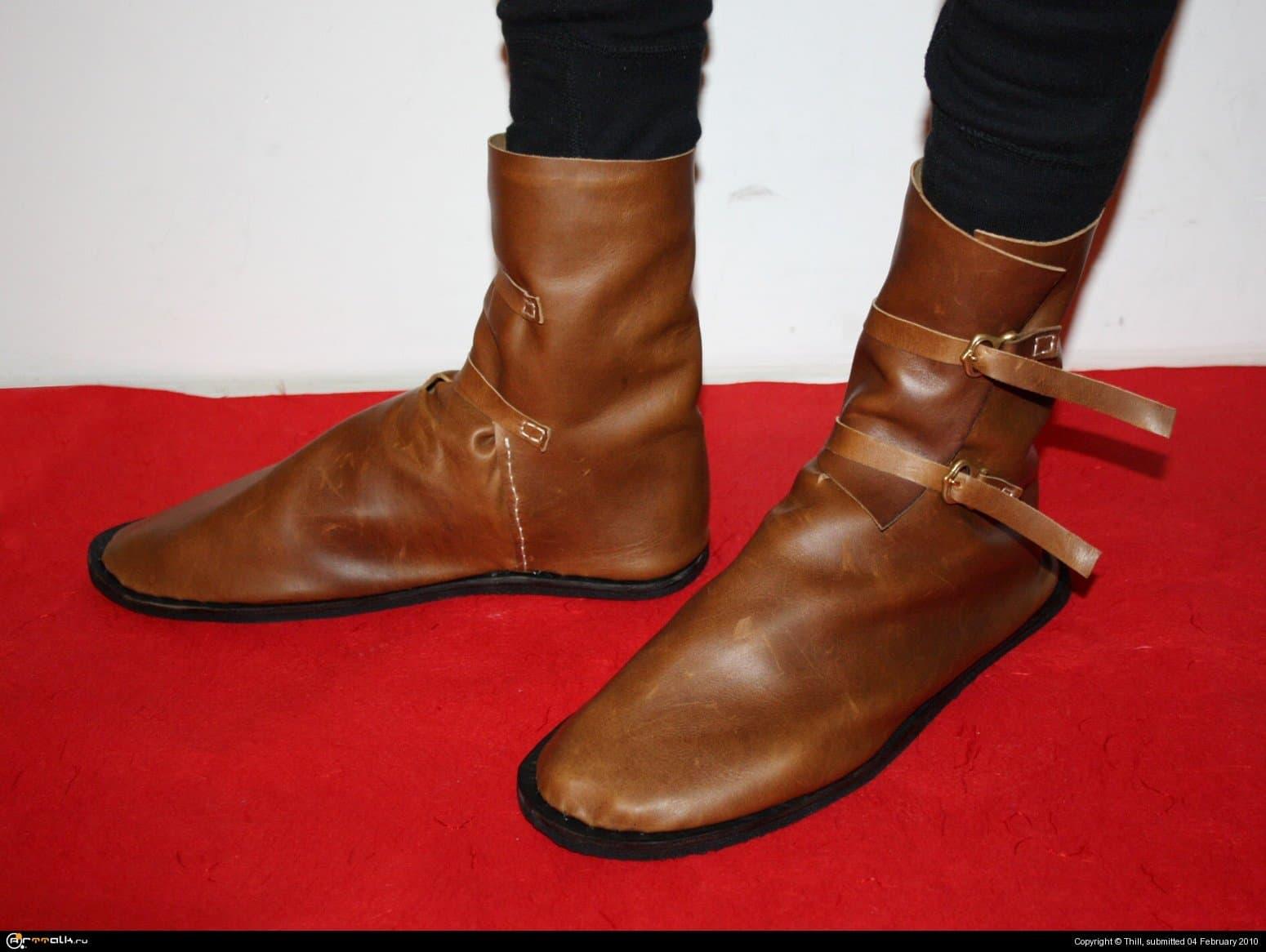 Обувь на 14 век