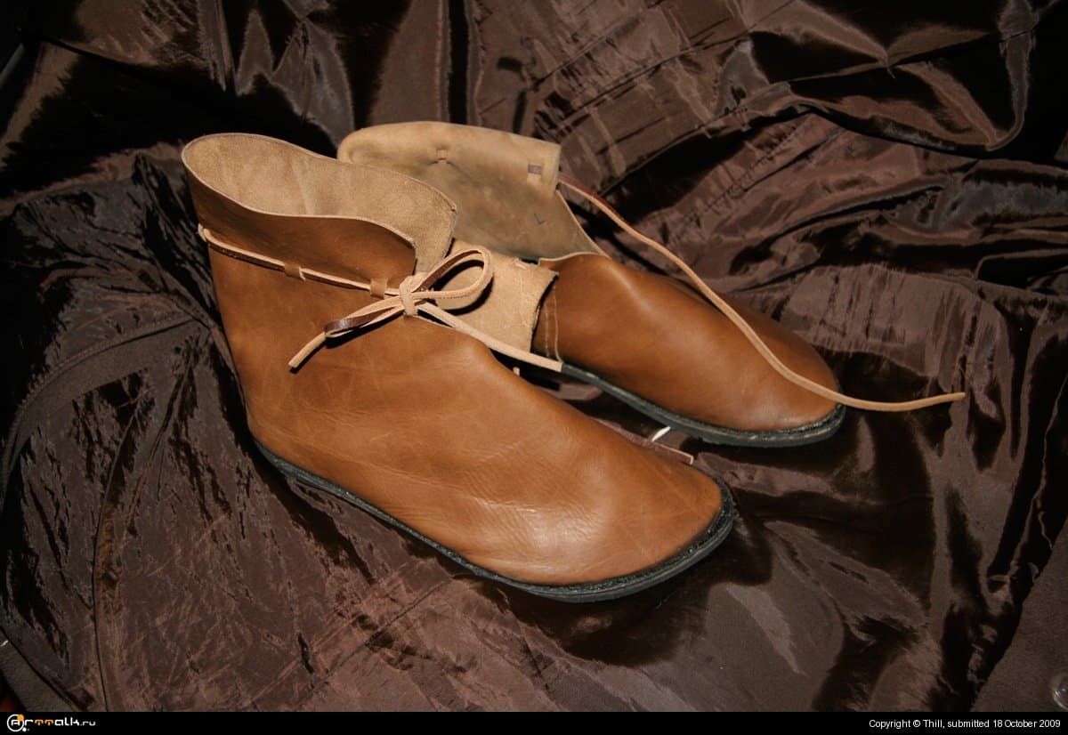 Обувь на 14 век (стилизация)