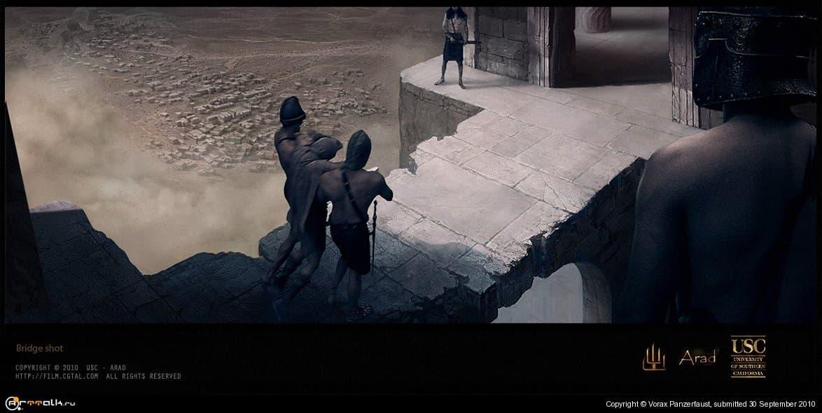 """""""Legend Of Arad"""" / Сцена с мостом"""