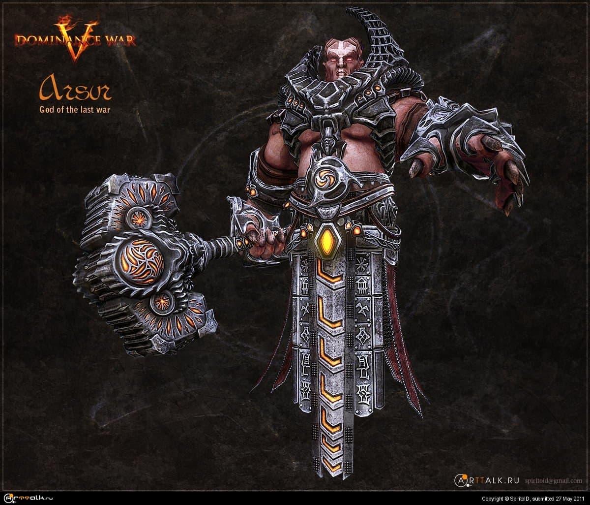 Arsur God Of War