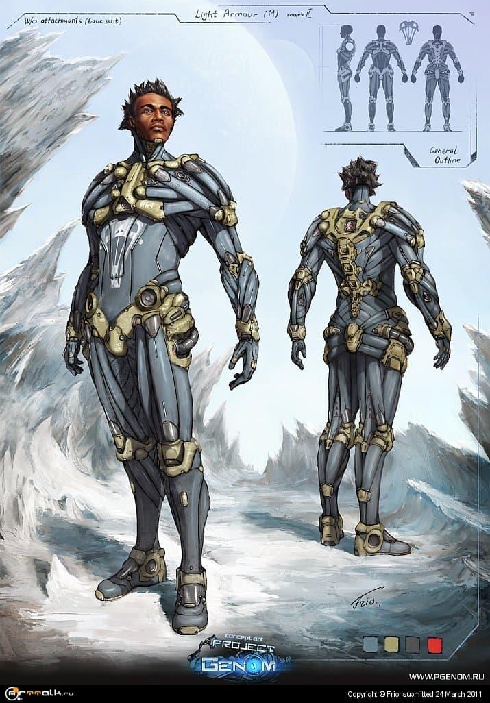 Light Armour Concept (m)
