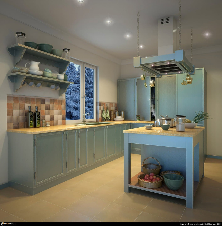 Кухня....
