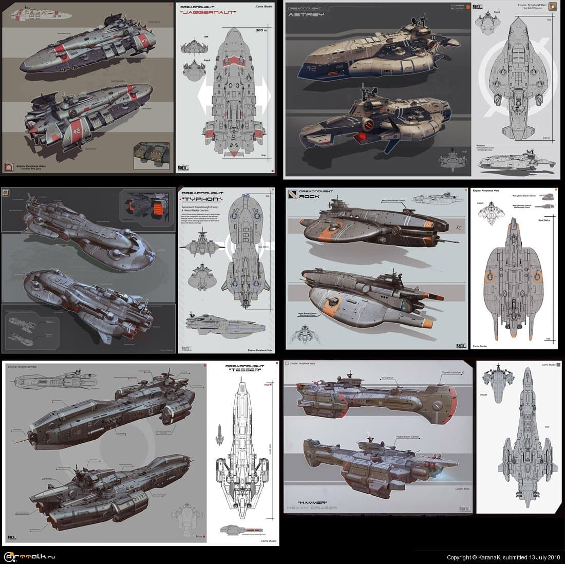 Concept Dreadnought Set