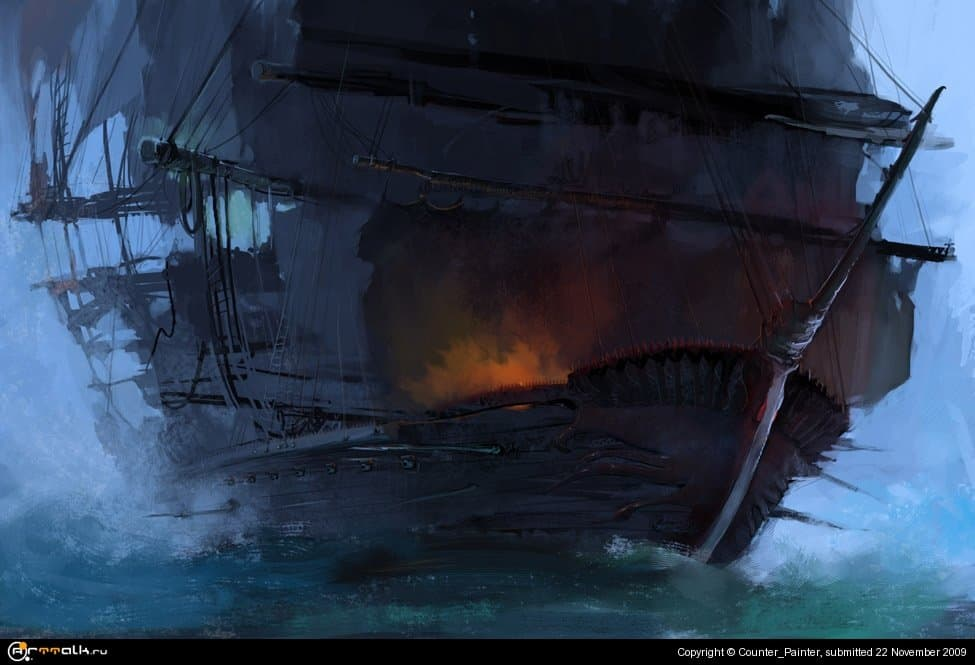 The Mysterious Piracy Ship