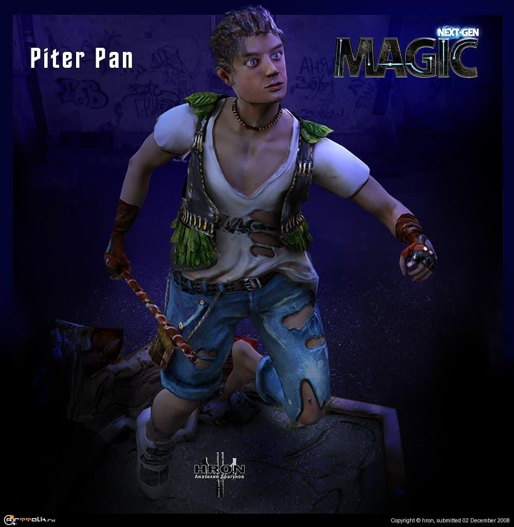 Piter Pan Постановочный кадр