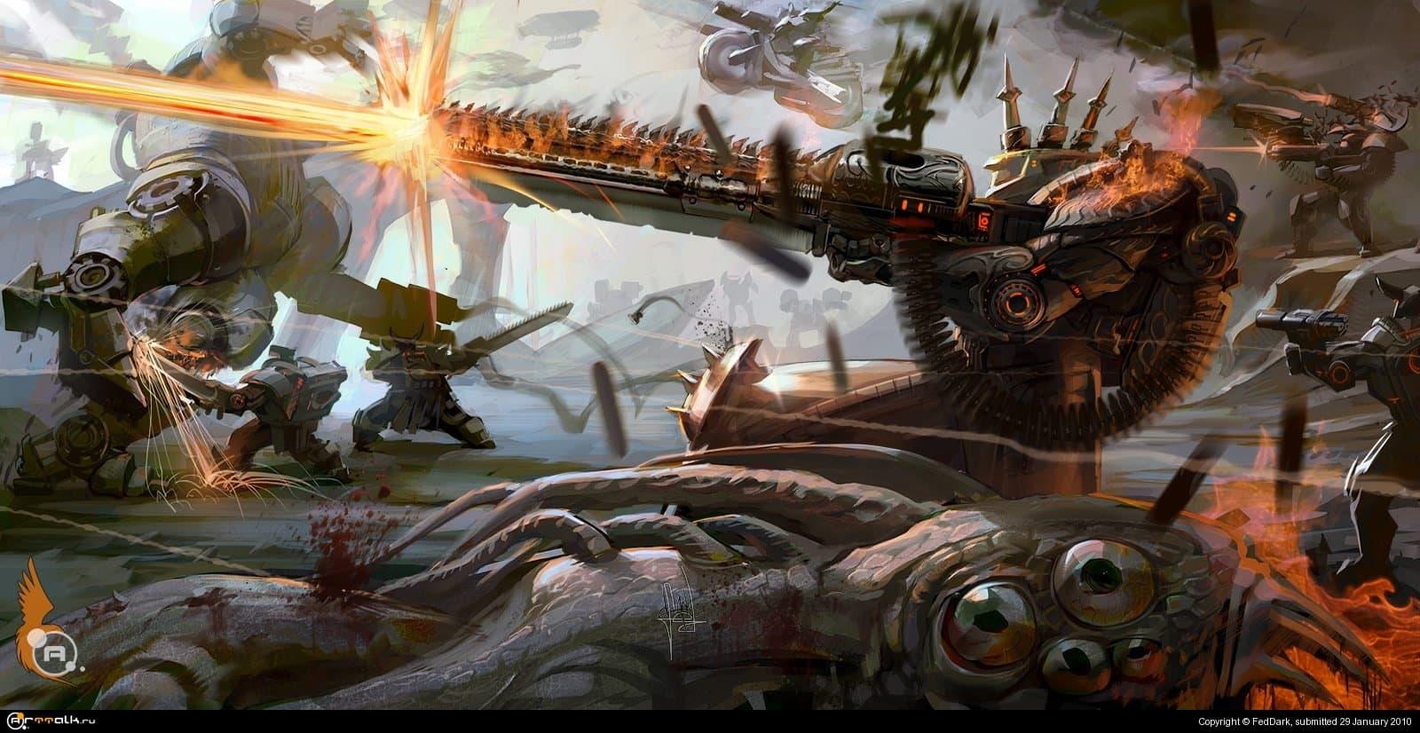 техно-викинги надвигаются
